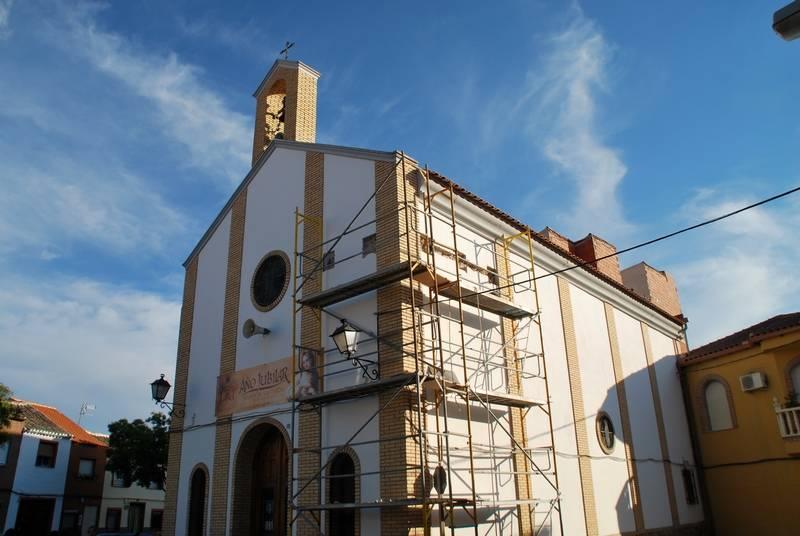Visita guiada a las obras de rehabilitación de la ermita de san Antón 1