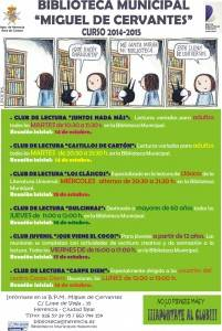 biblioteca municipal miguel de cervantes curso 2014-2105