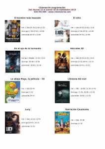 cartelea de cinemancha del 12 al 18 de septiembre de 2014 212x300 - Cartelera de Cinemancha del 12 al 18 de septiembre