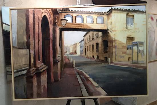 cuatro premio pintura rapida herencia - Orencio Murillo ganador del VIII Certamen de Pintura Rápida