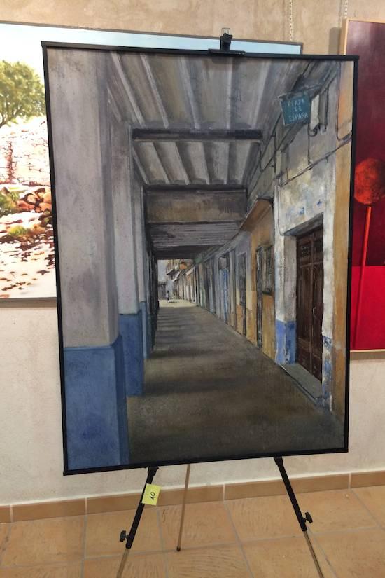 Evaristo Palacio segundo premio pintura rápida 2014