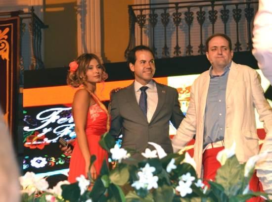 herencia reina concejal festejos y pregonero g - Un recorrido por la historia de Herencia para el inicio de la Feria y Fiestas 2014
