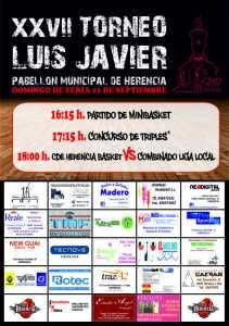 luis javier 2014 211x300 - Trofeo Luis Javier en Feria y Fiestas 2014