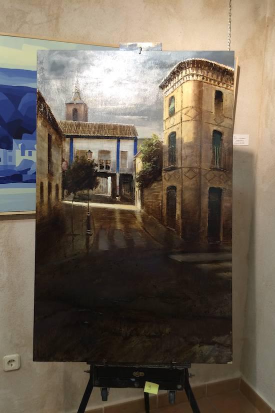 Orencio Murillo primer premio pintura rapida 2014