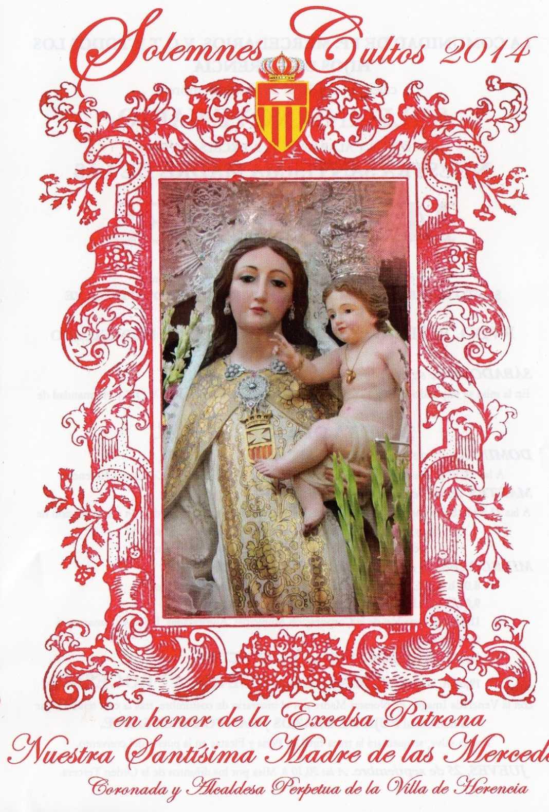 patronadeherencia001 1068x1581 - Actos en honor a la Virgen de las Mercedes
