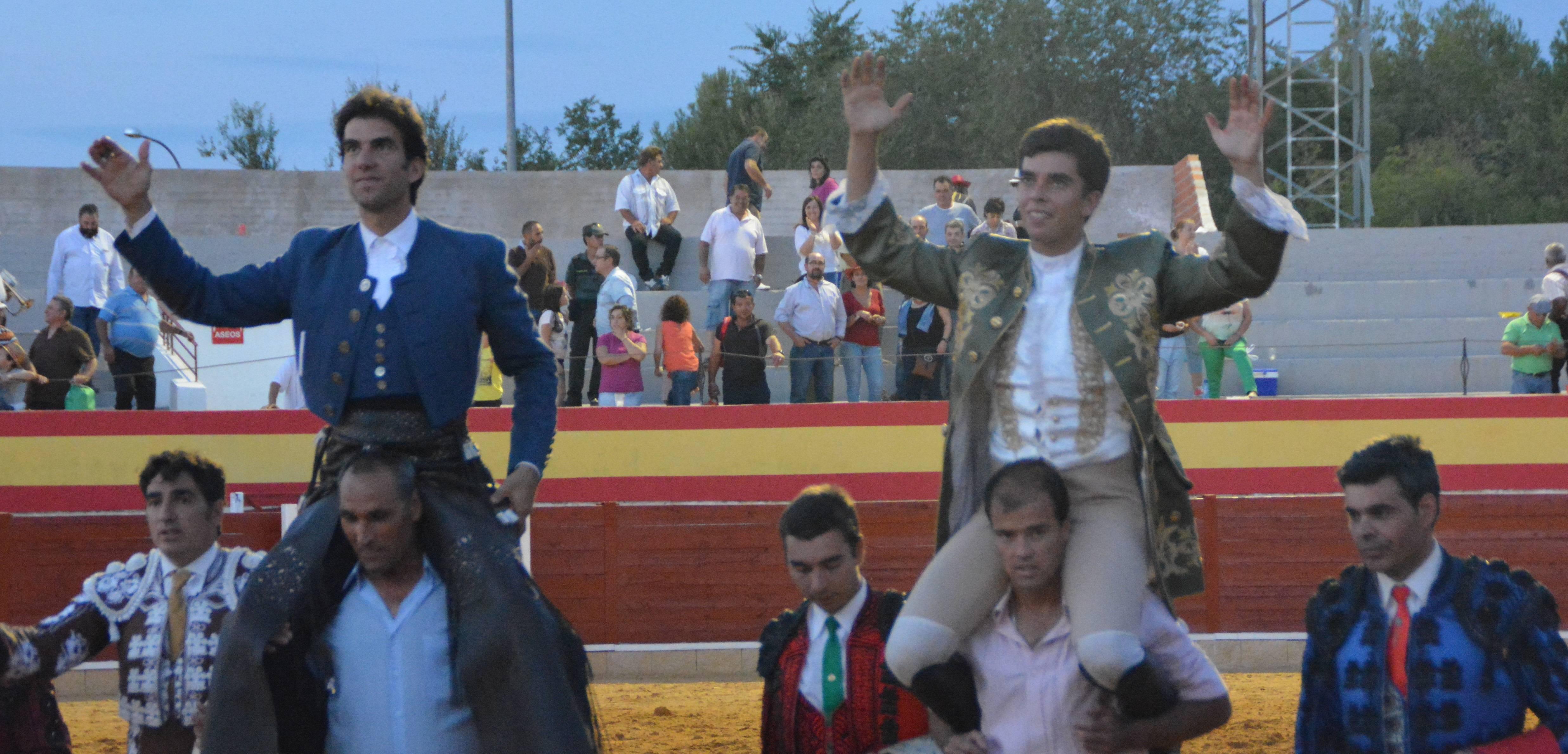 Toros en Herencia en la Feria y Fiestas de 2014. Foto de Archivo Herencia.net