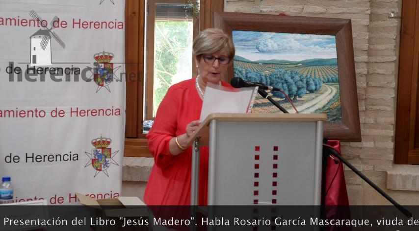 video presentacion libro jesus madero habla su viuda rosario garcia - Vídeo de las Presentación del libro sobre Jesús Madero