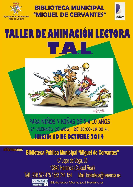 Taller de Animación Lectora T.A.L. 1