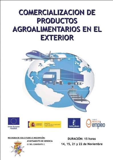 Comercialización de productos agroalimentarios en el exterior - Abierta la inscripción para el curso de comercialización de productos agroalimentarios en el exterior