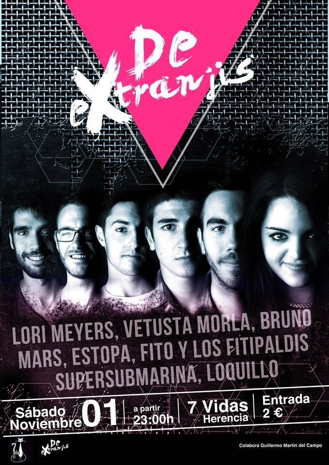 Concierto De Extranjis - De eXtranjis y Guillermo Martín en concierto en Disco Pub 7Vidas