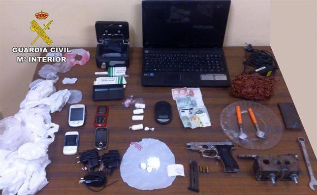 Erradicado un punto de venta de droga en Herencia 1
