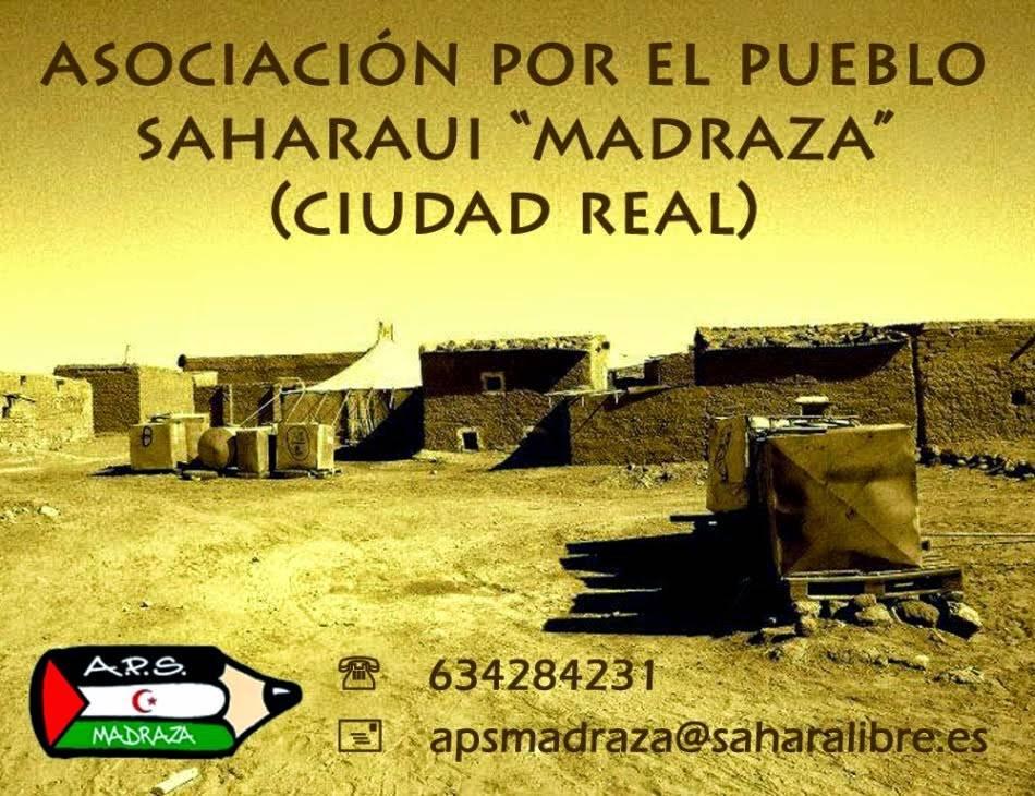 Una cadena humana de Ciudad Real al Sahara 1