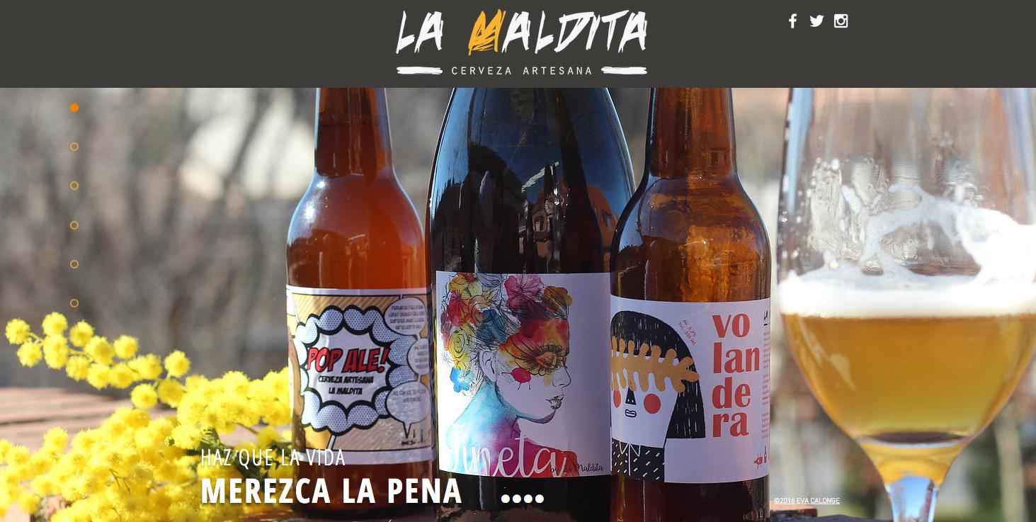 "cerveza la maldita herencia - Próxima apertura de la fábrica de cerveza artesana ""La Maldita"""