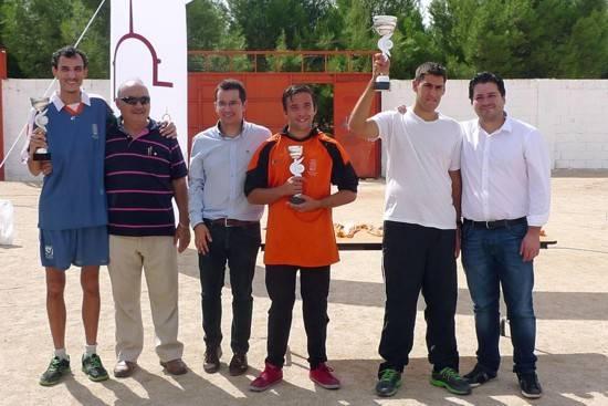herencia con David Triguero campeones g1 - Celebrado el segundo encuentro deportivo provincial para Centros Ocupacionales