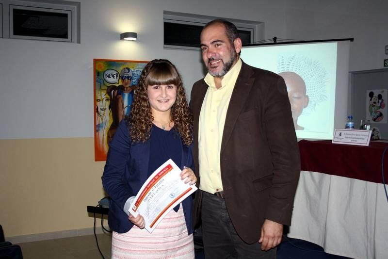 herencia festival becaria con alcalde 3 - La música fue el tema central en el 12º Festival de Aprendizaje de Herencia