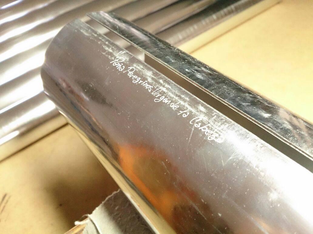 img 20140930 wa0007 - Primeros tubos del Organo de la Parroquia grabados