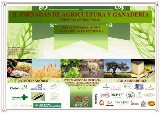 Jornadas de Agricultura y Ganadería del 21 al 24 de octubre 2014 1