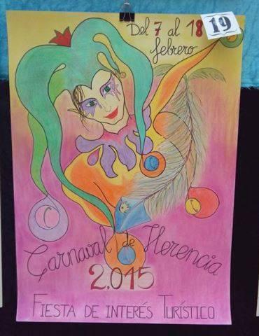 Cartel19 - Mañana tendrá lugar la elección del cartel del Carnaval de Herencia 2015
