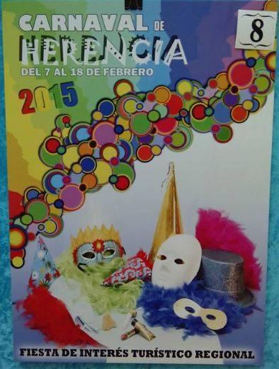 Cartel8. - Mañana tendrá lugar la elección del cartel del Carnaval de Herencia 2015