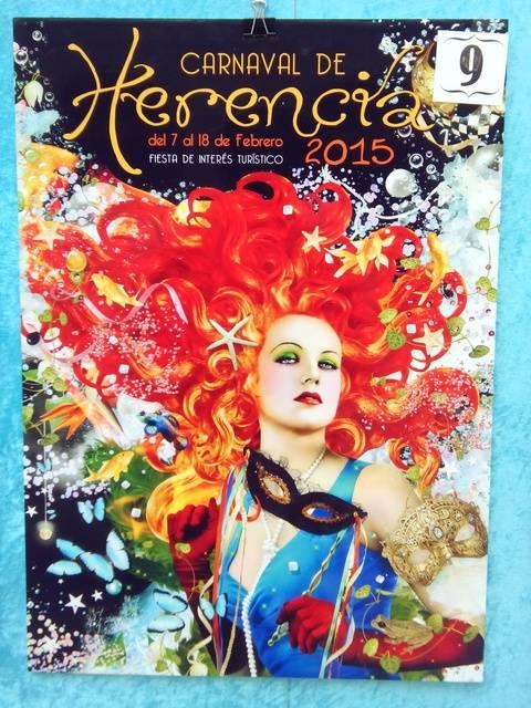 Cartel9 - Mañana tendrá lugar la elección del cartel del Carnaval de Herencia 2015