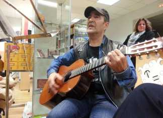 Encuentro con el músico y compositor Basilio Montes