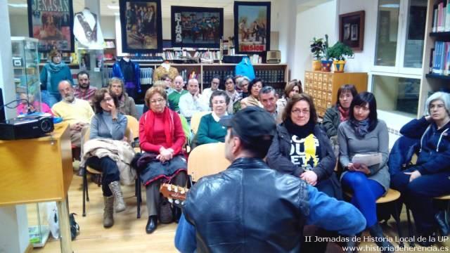 Encuentro con el m%C3%BAsico y compositor Basilio Montes1 - Orquestas y bandas protagonistas de las II jornadas de historia local de la Universidad Popular