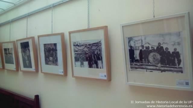 Exposici%C3%B3n 70 a%C3%B1os de m%C3%BAsica en herencia3 - Orquestas y bandas protagonistas de las II jornadas de historia local de la Universidad Popular