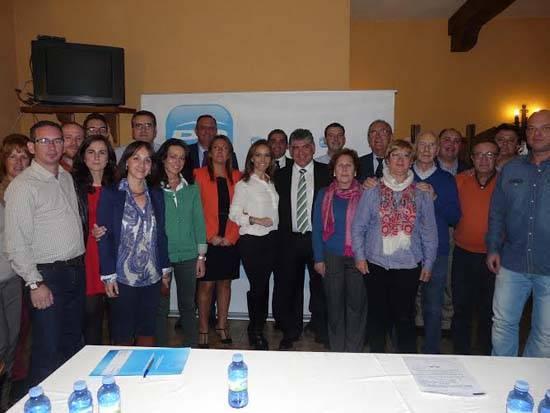 Herencia Partido Popular - Cristina Rodríguez de Tembleque elegida nueva presidenta del Partido Popular