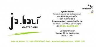 Inauguración Ja.bali Gastro Gin