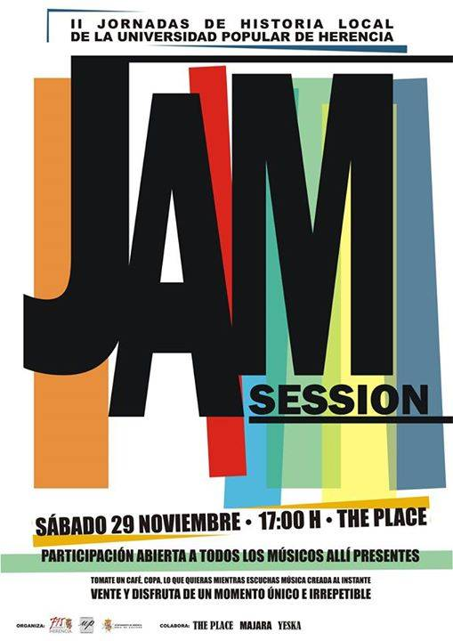 Jam Sesion - Jam Session en disco pub The Place con motivo de las II Jornadas de Historia Local