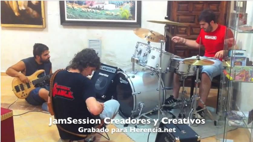 Jam Session Herencia 2013 Creadores y Creativos - Jam Session en disco pub The Place con motivo de las II Jornadas de Historia Local