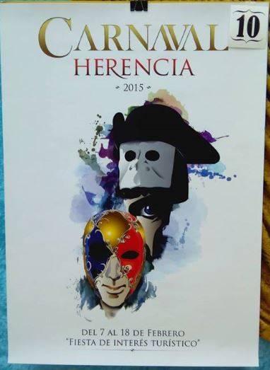 cartel10 - Mañana tendrá lugar la elección del cartel del Carnaval de Herencia 2015