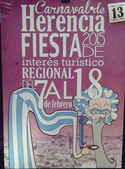 cartel13 - Mañana tendrá lugar la elección del cartel del Carnaval de Herencia 2015