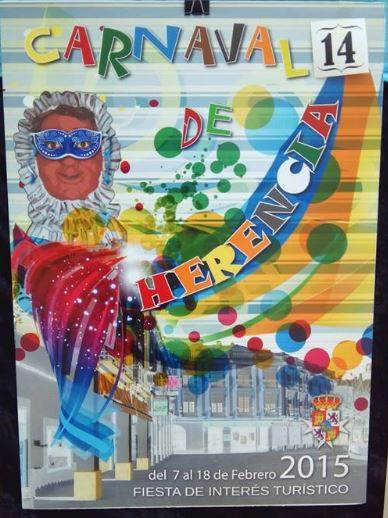 cartel14  - Mañana tendrá lugar la elección del cartel del Carnaval de Herencia 2015