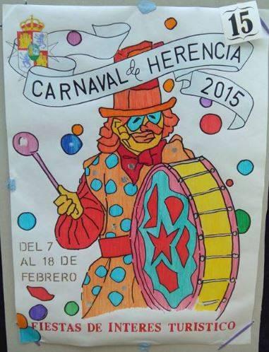 cartel15 - Mañana tendrá lugar la elección del cartel del Carnaval de Herencia 2015