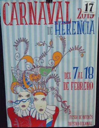 cartel17 - Mañana tendrá lugar la elección del cartel del Carnaval de Herencia 2015