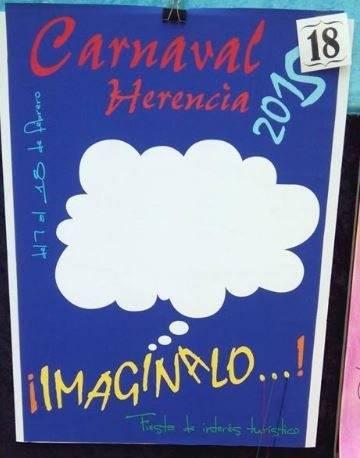 cartel18 - Mañana tendrá lugar la elección del cartel del Carnaval de Herencia 2015