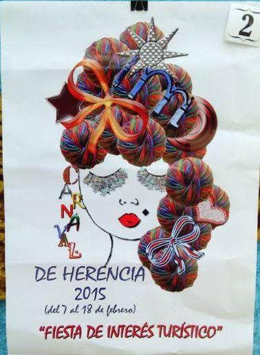 cartel2 - Mañana tendrá lugar la elección del cartel del Carnaval de Herencia 2015