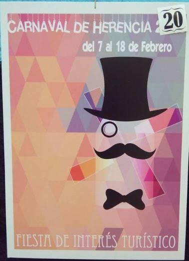 cartel20 - Mañana tendrá lugar la elección del cartel del Carnaval de Herencia 2015