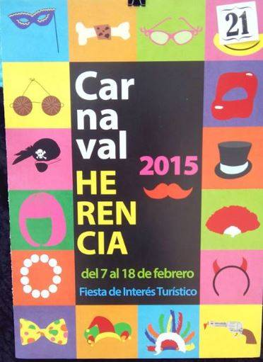 cartel21 - Mañana tendrá lugar la elección del cartel del Carnaval de Herencia 2015