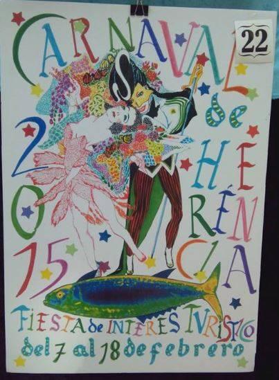 cartel22 - Mañana tendrá lugar la elección del cartel del Carnaval de Herencia 2015