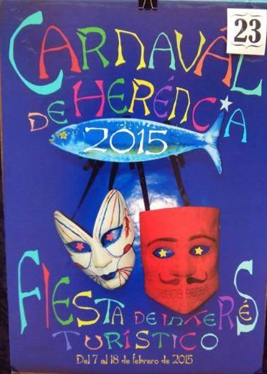 cartel23 - Mañana tendrá lugar la elección del cartel del Carnaval de Herencia 2015