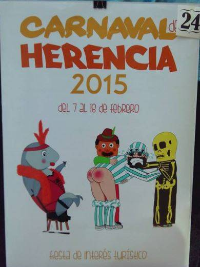 cartel24 - Mañana tendrá lugar la elección del cartel del Carnaval de Herencia 2015