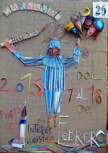 cartel26 - Mañana tendrá lugar la elección del cartel del Carnaval de Herencia 2015