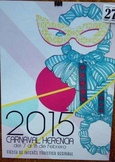 cartel27 - Mañana tendrá lugar la elección del cartel del Carnaval de Herencia 2015