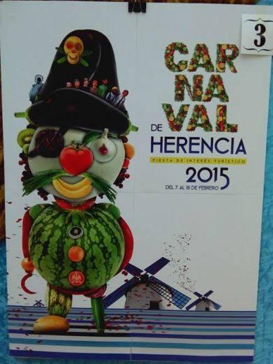 cartel3 - Mañana tendrá lugar la elección del cartel del Carnaval de Herencia 2015