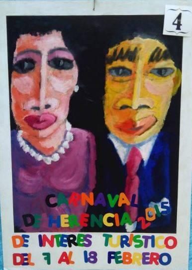cartel4 - Mañana tendrá lugar la elección del cartel del Carnaval de Herencia 2015