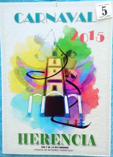 cartel5 - Mañana tendrá lugar la elección del cartel del Carnaval de Herencia 2015