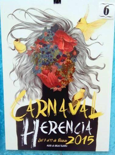 cartel6 - Mañana tendrá lugar la elección del cartel del Carnaval de Herencia 2015