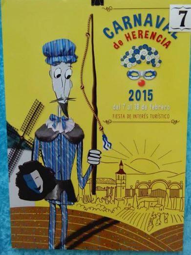 cartel7 - Mañana tendrá lugar la elección del cartel del Carnaval de Herencia 2015